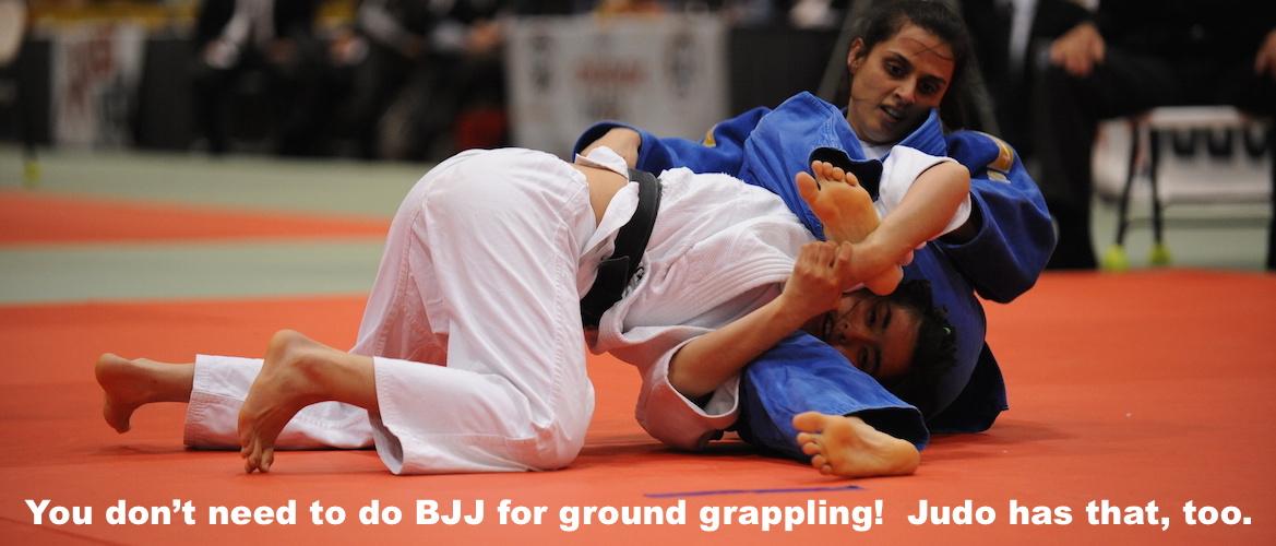 Judo Has Mat Work