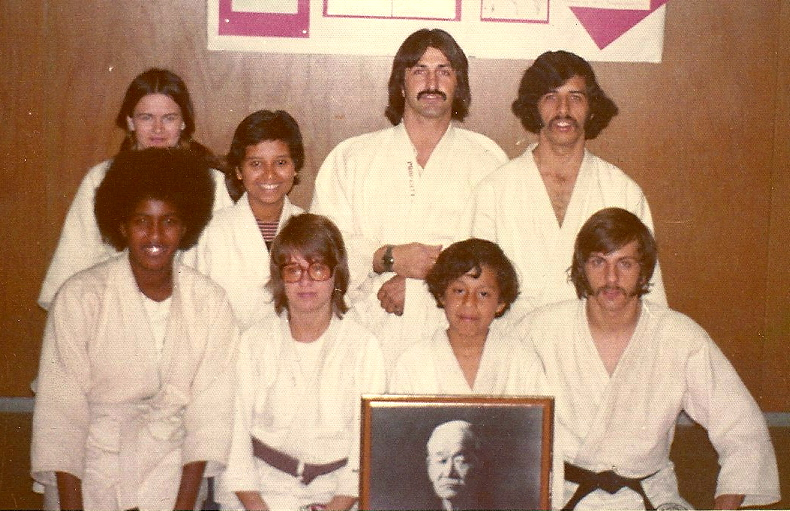 First Judo Club at San Diego City College, 1972