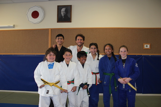Team Judo America with Flavio Canto